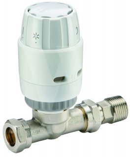 Danfoss Randall RAS-C2 TRV 15mm (Straight)
