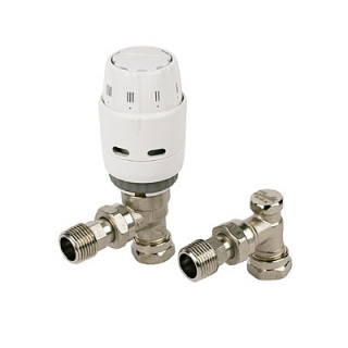 Danfoss Ras-C2 15mm TRV Combi Pack (Angled)