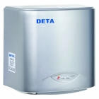 Deta Compact High Speed 1.1kW Energy Saving Silver Hand Dryer