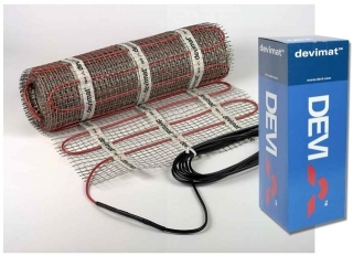 Devimat DTIR-100 100w Electric Underfloor Heating Mat - 2.5M²