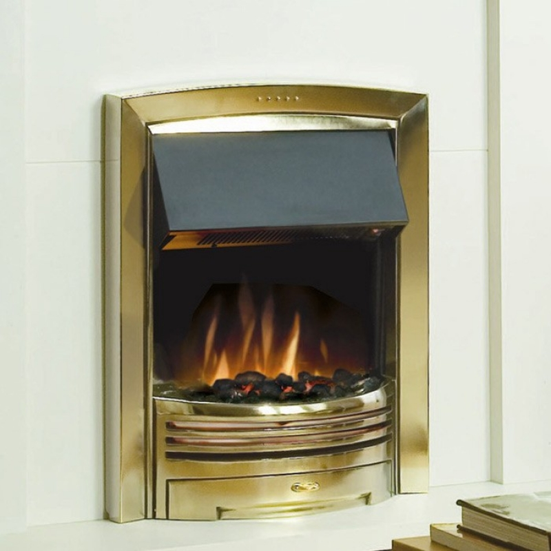 Economy 7 Heaters >> Dimplex Adagio Brass Electric Fire | Inset Electric Fires | PlumbNation.co.uk