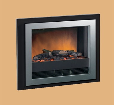 Dimplex Bizet Wall Mounted Silver Grey Electric Fire