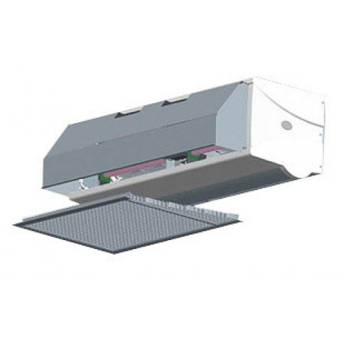 Electric Air Curtain Heaters Chameleon The Architectural: Dimplex CAB Electric Recessed Commercial Air Curtains