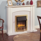 Image for Dimplex Danesbury Brass Electric Fire - DAN20BR