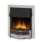 Image for Dimplex Danesbury Traditional Inset Fire Chrome - DAN20CH