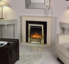 Image for Dimplex Exbury Antique Brass LED Traditional Inset Fire - EBY15AB-LED
