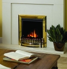 Image for Dimplex Exbury Brass Electric Fire - EBY15BR