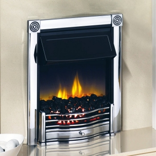 Dimplex Horton Chrome Electric Fire