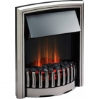 Image for Dimplex Rockport Optiflame Electric Fire Chrome - RKT20