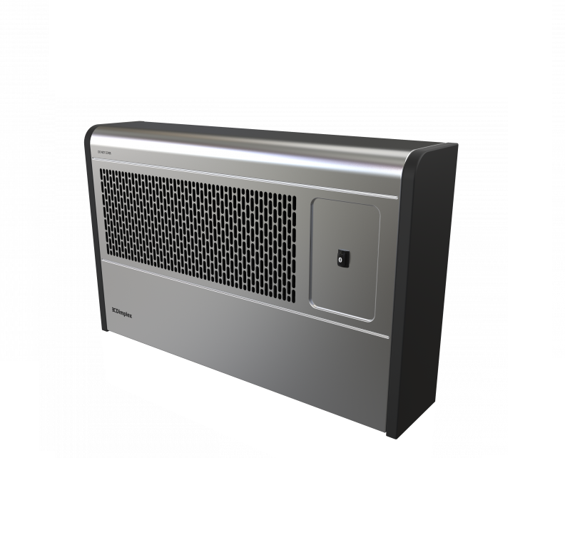 Dimplex Wfe3se 3kw Bluetooth Wall Fan Convector Silver