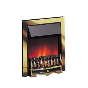 Dimplex Wynford Inset Antique Brass Electric Fire