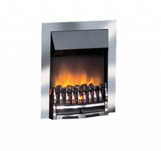 Dimplex Wynford Inset Chrome Electric Fire