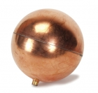 World Heat Copper Ball Float - 4 1/2""