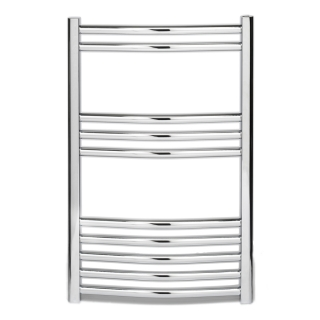 Discount Curved Chrome Towel Rails