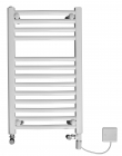 Image for Discount Curved Dual Fuel White Towel Rail  1200mm x 420mm - 4MA12DF