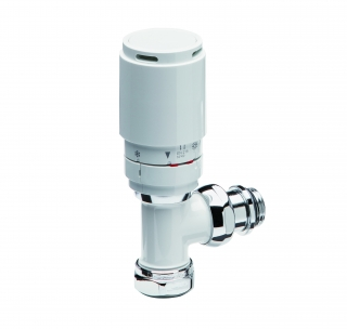Discount Oval Thermostatic Head - White - UDW109L