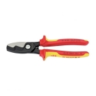 Image for Draper 32023 Knipex 95 18 200UKSBE VDE Fully Insulated Cable Shears 200mm