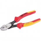 Image for Draper 50253 200mm Ergo Plus Fully Insulated High Leverage VDE Diagonal Side Cutters