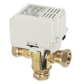 Drayton 28mm 3 Port Motorised Diverter Valve - No Switch ZA3/779-3