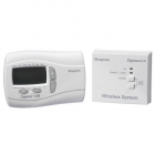 Image for Drayton Digistat + 2RF Wireless Programmable Room Thermostat (1 Day)