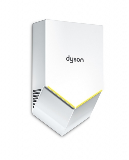 dyson airblade v white hand dryer hand dryers. Black Bedroom Furniture Sets. Home Design Ideas