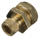 Image for 22mm x 15mm DZR Compression Reducing Coupling