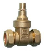DZR Lockshield Gate Valves