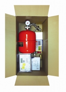 EHC Fusion Slim Jim Twin Boiler Unvented Kit