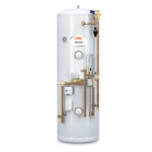 Image for EHC Neptune Pre-Plumbed 180L Indirect Unvented Cylinder - NIND180PPC
