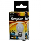 Image for Energizer 470LM 5.9W Warm White Golf Opal B22 LED Lamp - S8838