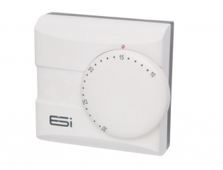 ESi Electronic Room Thermostat with Neon Indicator
