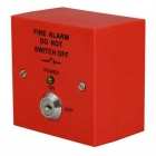 Image for ESP Fire Panel Isolator Switch Red - MAGISORP