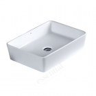Image for Essential Lavender 550mm Countertop 0 Tap Hole Basin - EC8002