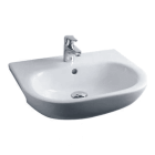 Image for Essential Lily Semi-Recessed 520mm 1 Tap Hole Basin - EC1005