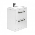 Image for Essential Nevada 800mm Basin Unit With Basin White - EFP303WH