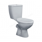 Essential Close Coupled Pan, Cistern & Soft Close Seat - EC001