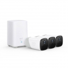 Image for Eufy Security EufyCam 2 - 3 Cam Kit and Homebase 2 - T88423D2