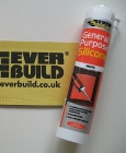 Everbuild Silicone Sealant White - 300ml