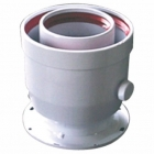 Image for Ferroli 100mm Vertical Flue Adaptor - 041002X0