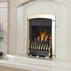 Image for Flavel Calypso Plus Gas Fire Brass - FKPC42SN