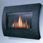 Image for Flavel Curve Outset Gas Fire Black - FCRR00RN
