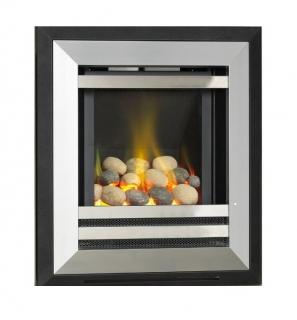 Flavel Diamond Hole In The Wall Pebbles Gas Fire