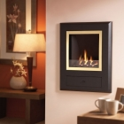 Image for Flavel Finesse Coal Hole in the Wall Gas Fire Brass - FSRCXXMN