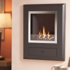 Image for Flavel Finesse Coal Hole in the Wall Gas Fire Chrome - FSRCYYMN