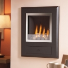 Image for Flavel Finesse Pebbles Hole In The Wall Gas Fire Chrome - FSRPYYMN