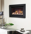 Image for Flavel Jazz Hole in the Wall Remote Control HE Gas Fire Black - FHCL22RN