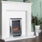 Image for Flavel Orchestra Balanced Flue Manual Control Gas Fire Silver - FBFN98G