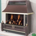 Flavel Renoir Outset Gas Fire - Remote Control - Bronze - FRECR0RN2