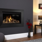 Image for Flavel Rocco Balanced Flue Hole In The Wall Gas Fire Black - FBFL02RN3