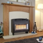 Image for Flavel Strata Outset Gas Fire Brown - FORSB0EN